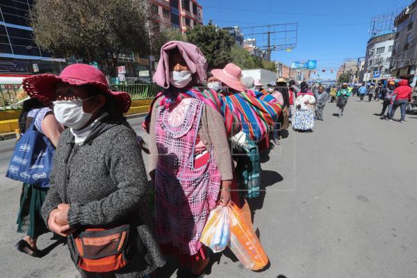 Bolivia colapsada