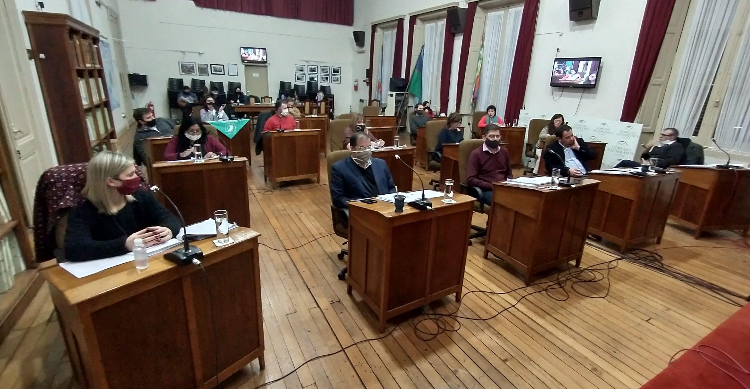 El Concejo Deliberante celebró la octava y novena sesión ordinaria