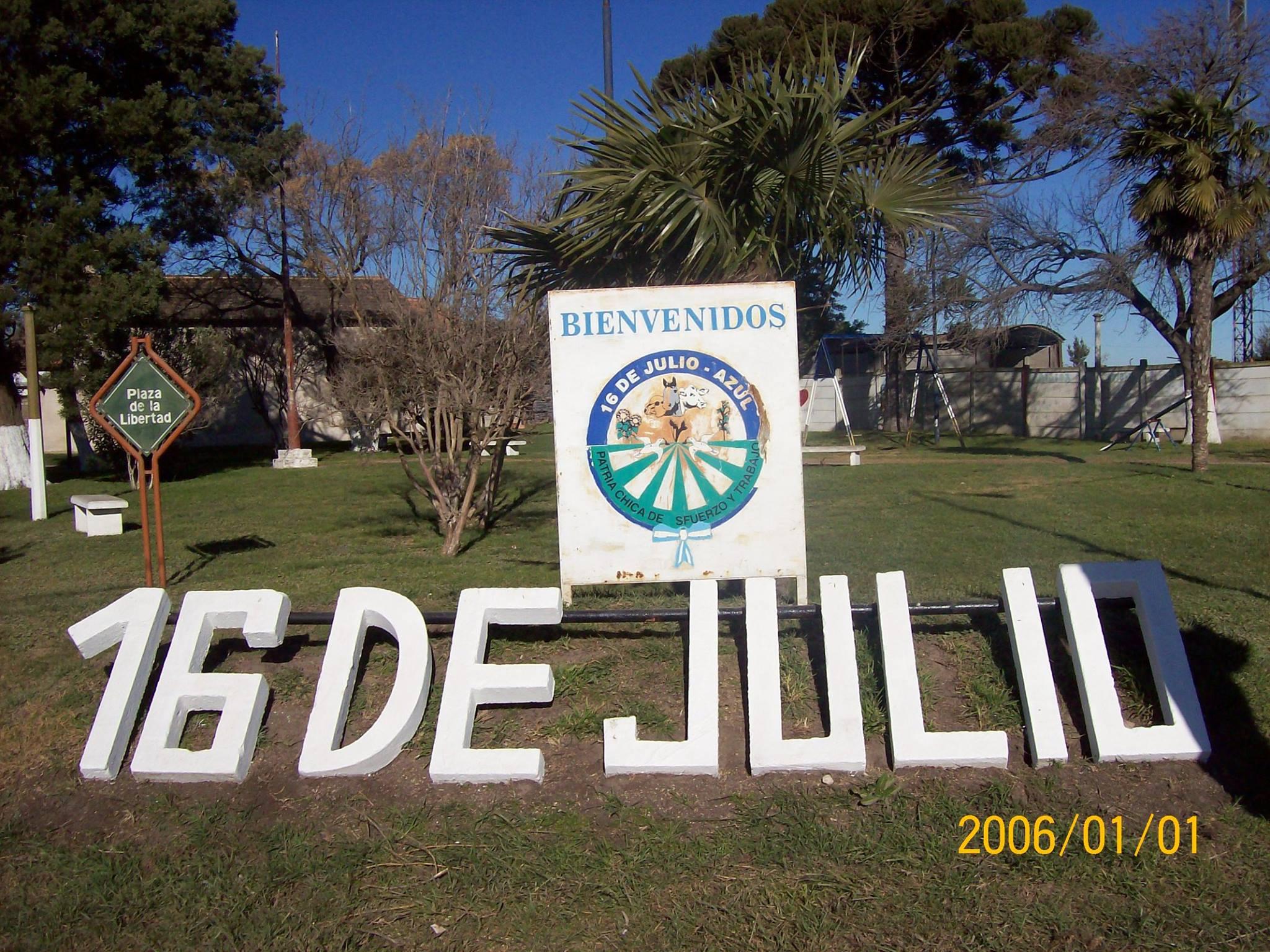 108° aniversario de la fundación de 16 de Julio
