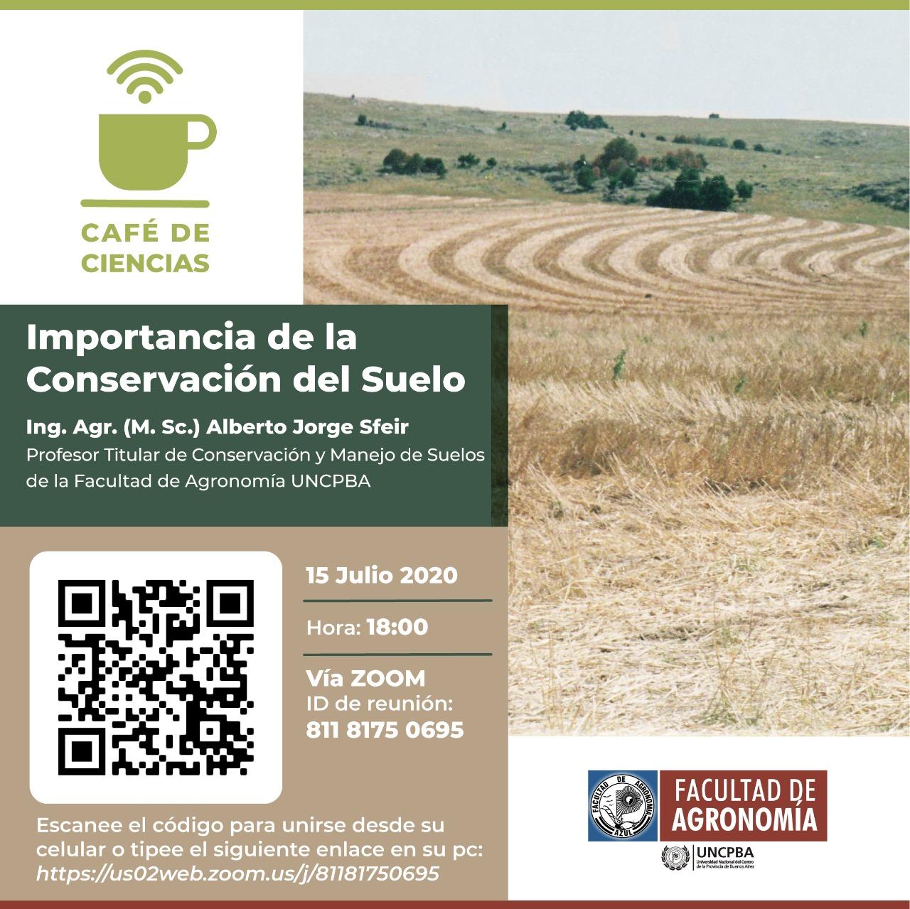 Café de Ciencias: Importancia de la conservación del suelo