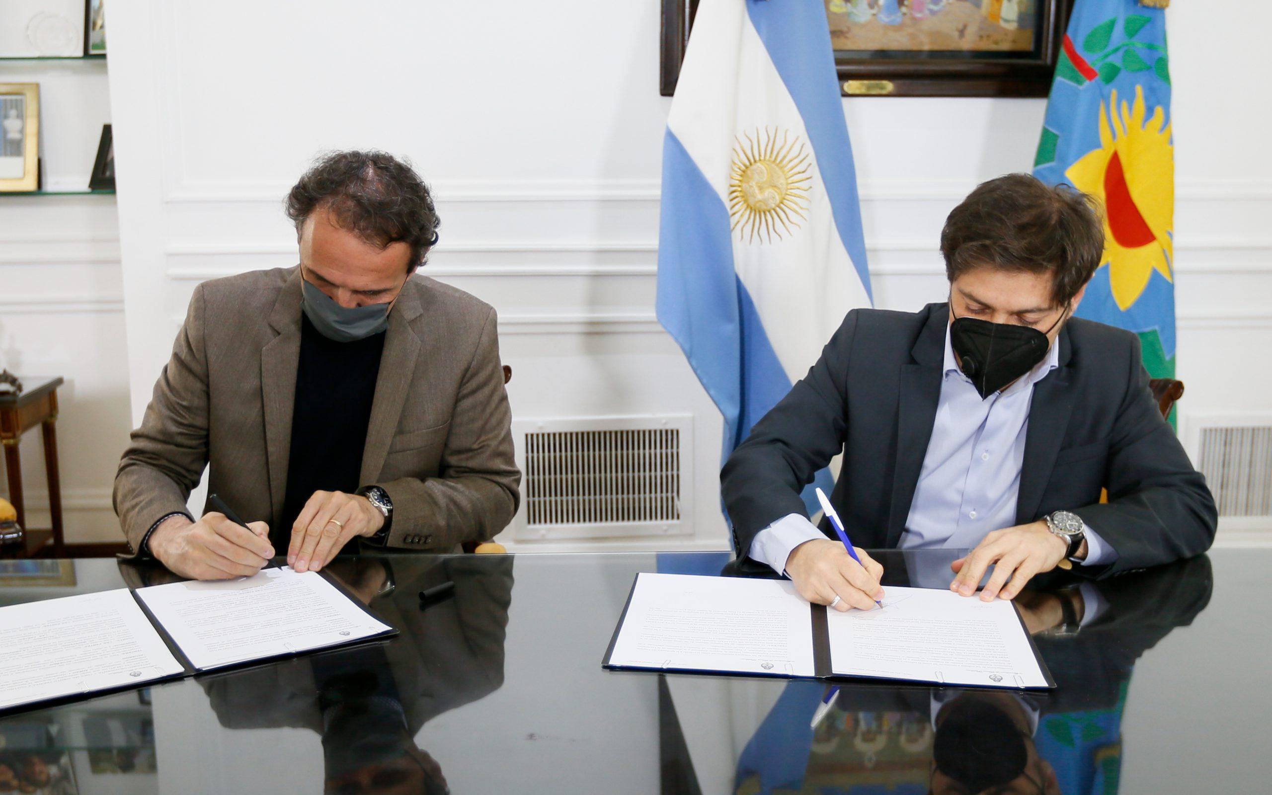 La Provincia firmó convenios con Nación para obras viales y de agua y saneamiento en más de 40 municipios