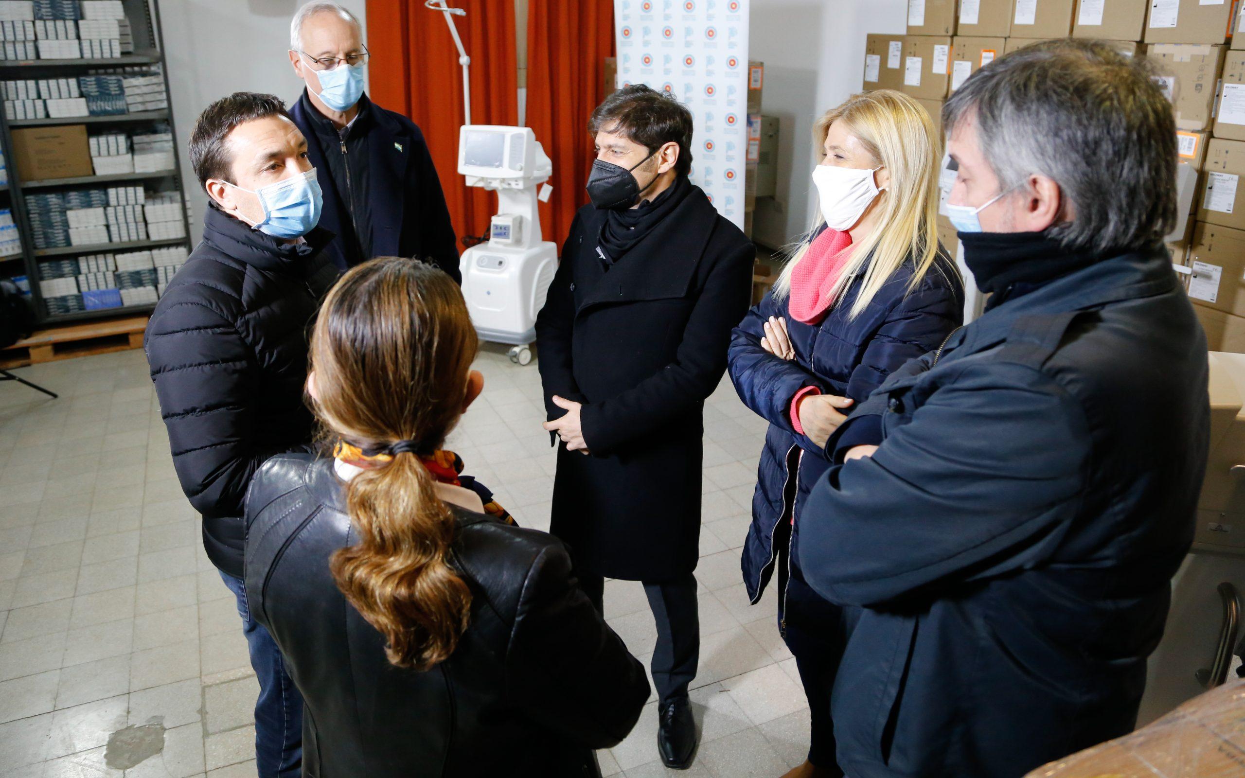 La Provincia entregó más de 100 nuevos respiradores