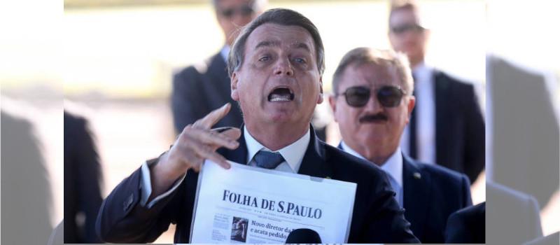 Bolsonaro contra los periodistas