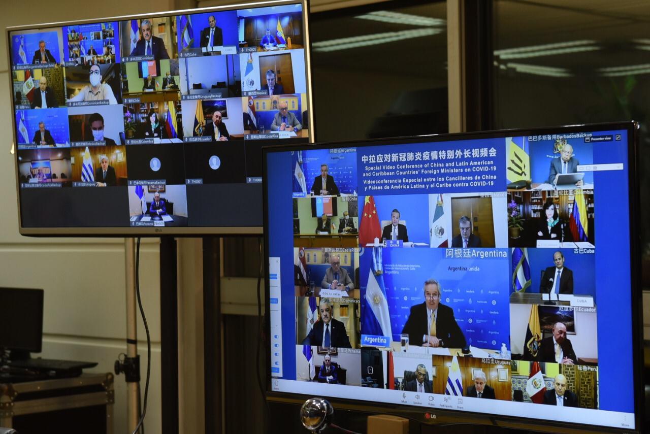 Cancilleres de América Latina y China hablaron de la vacuna para el Covid-19