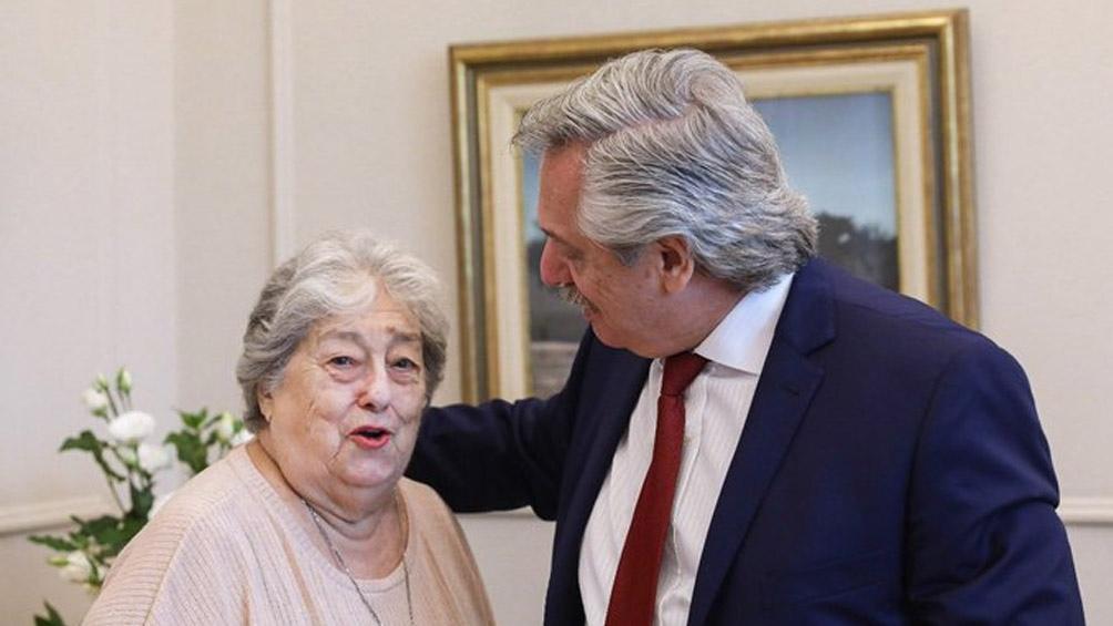 Intercambio epistolar entre Hebe de Bonafini y Alberto Fernández