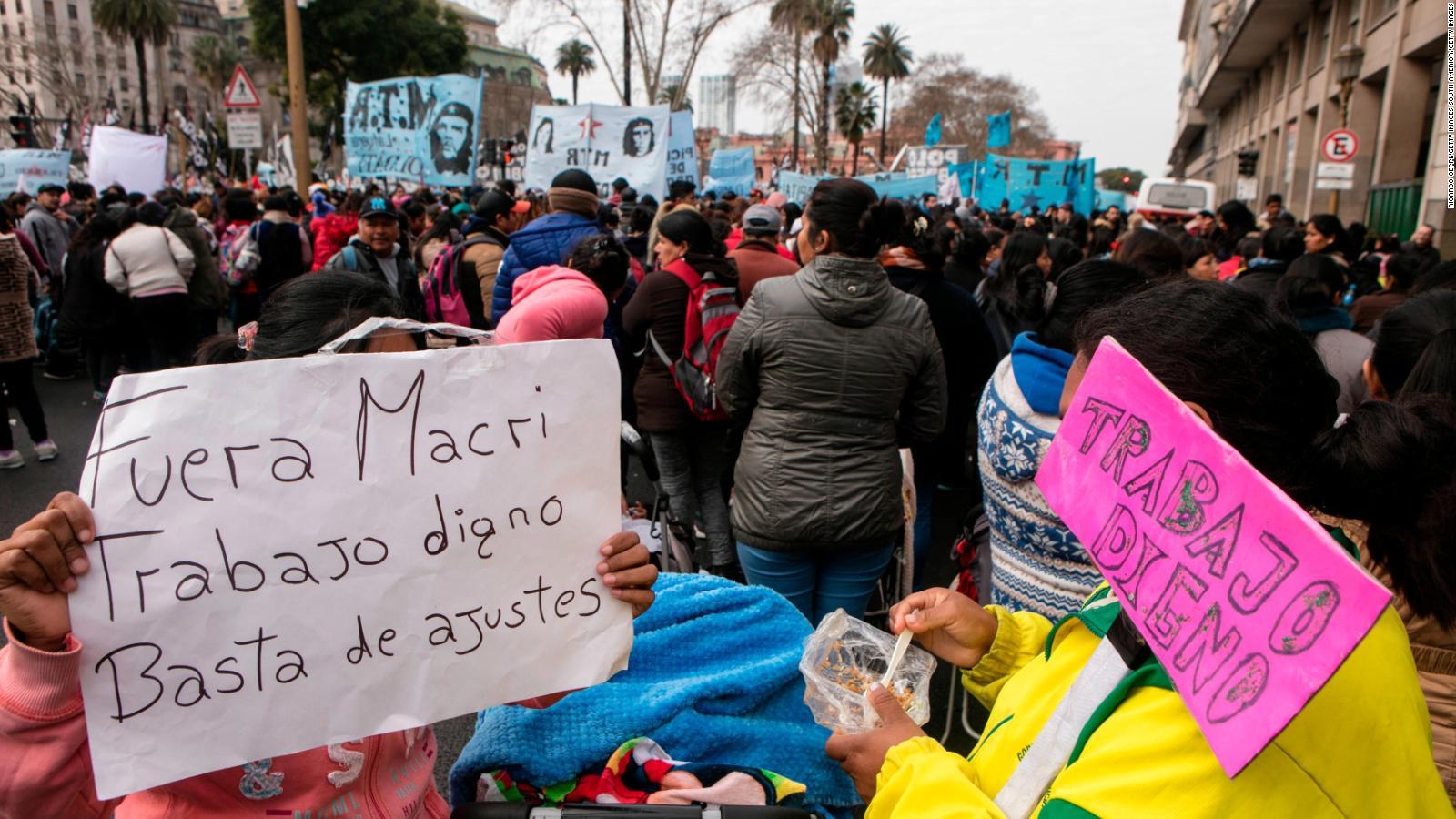 Profundo retroceso en el mercado de trabajo durante el gobierno de Macri