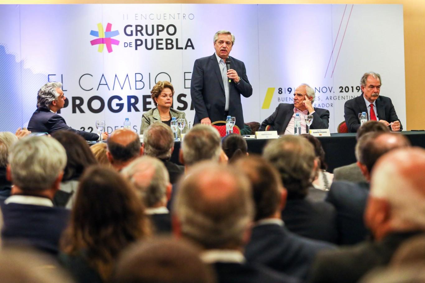 Alberto Fernández participará del aniversario del Grupo Puebla