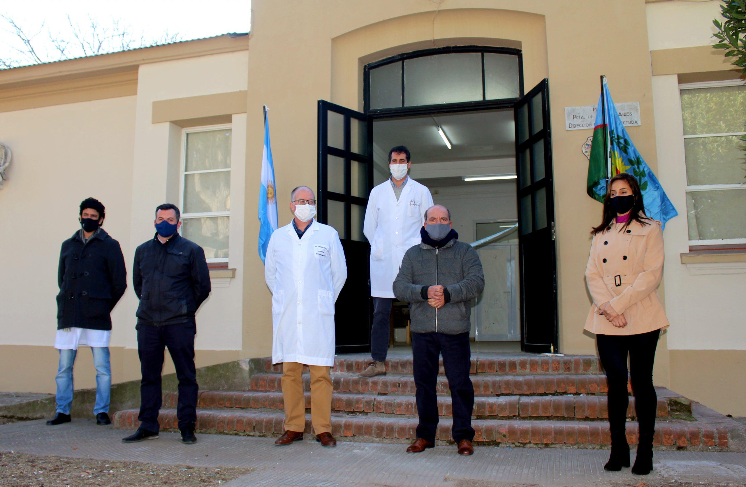 Kicillof participó de la inauguración de obras en el Hospital Municipal de Coronel Suárez