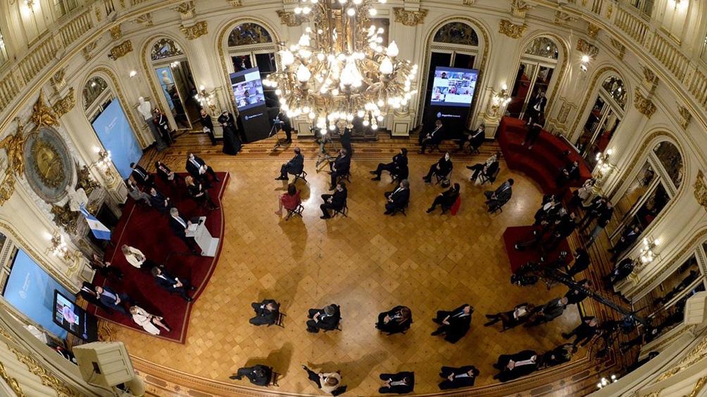 """Alberto Fernández: """"Proponemos organizar mejor la justicia federal"""""""