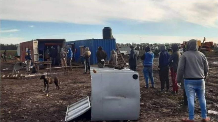 Lobería: allanaron un campo y rescataron a 21 hombres que eran explotados laboralmente