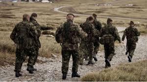 Protesta argentina por ejercicios militares en Malvinas
