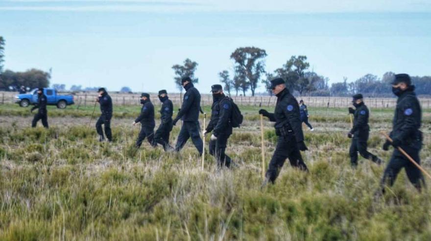 Unos 200 Federales realizan rastrillajes para encontrar a Facundo Castro desaparecido hace 75 días