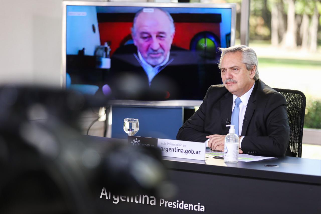 """Alberto Fernández: """"La Argentina que se viene nos necesita a todos y las pequeñas y medianas empresas son los principales aliados"""""""