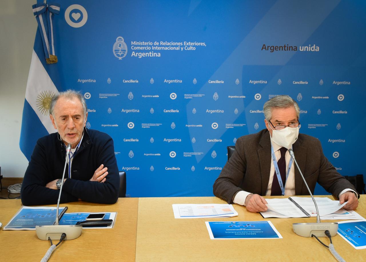 242 oportunidades comerciales para las exportaciones argentinas
