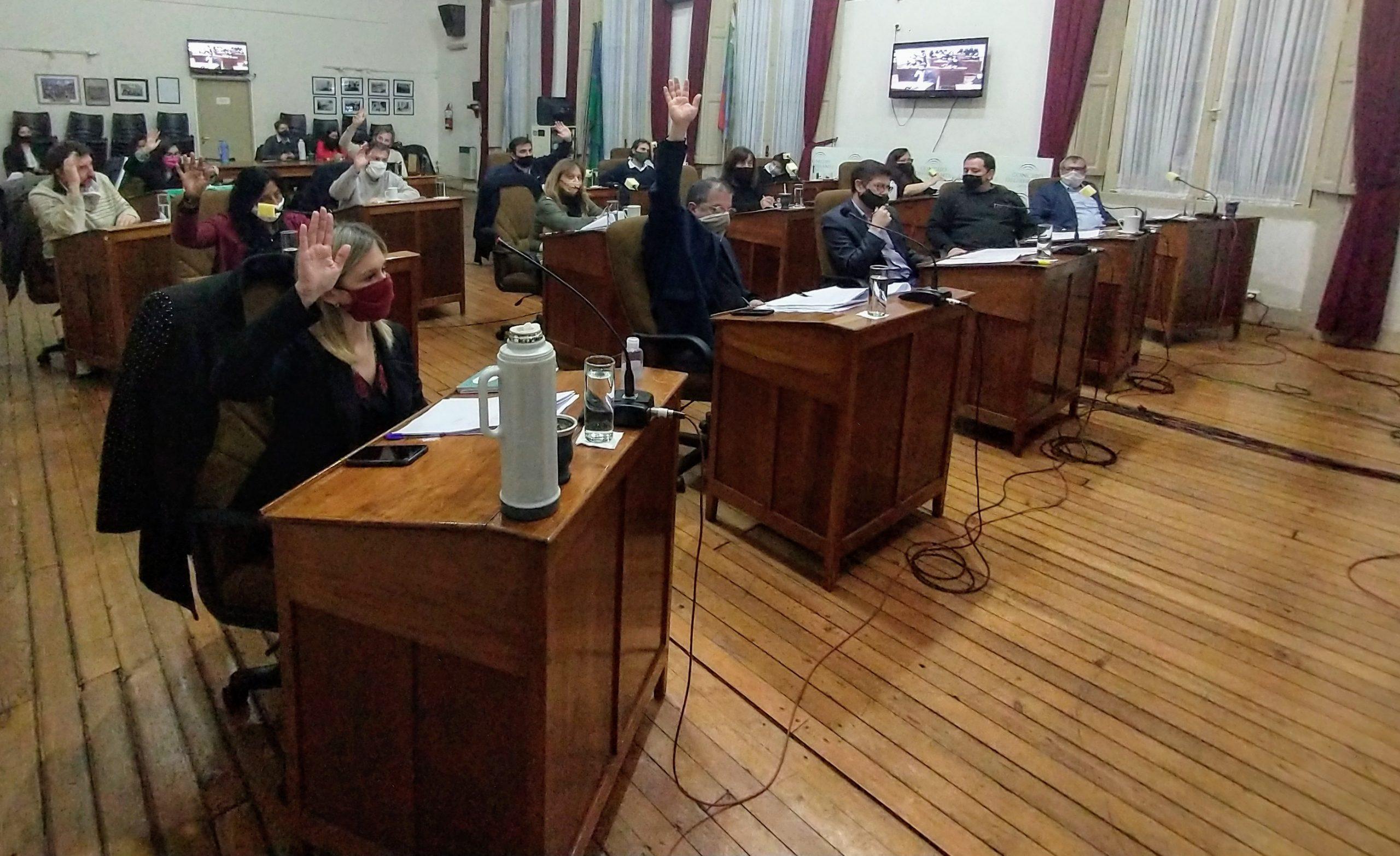 Concejo Deliberante: Décimo segunda sesión Ordinaria