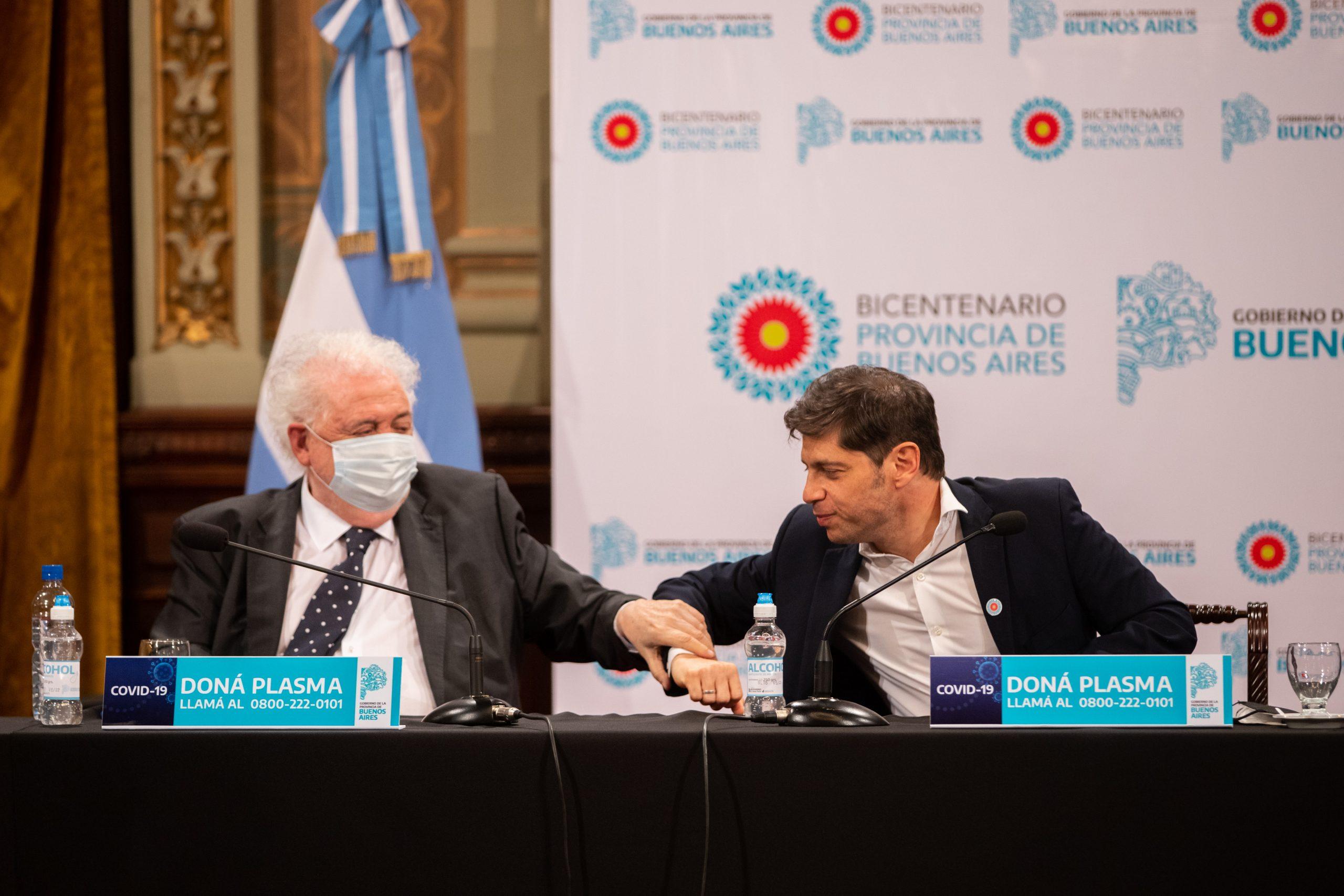 """Kicillof: """"Coordinamos los sistemas de salud público y privado para que todos los bonaerenses reciban una mejor atención"""""""