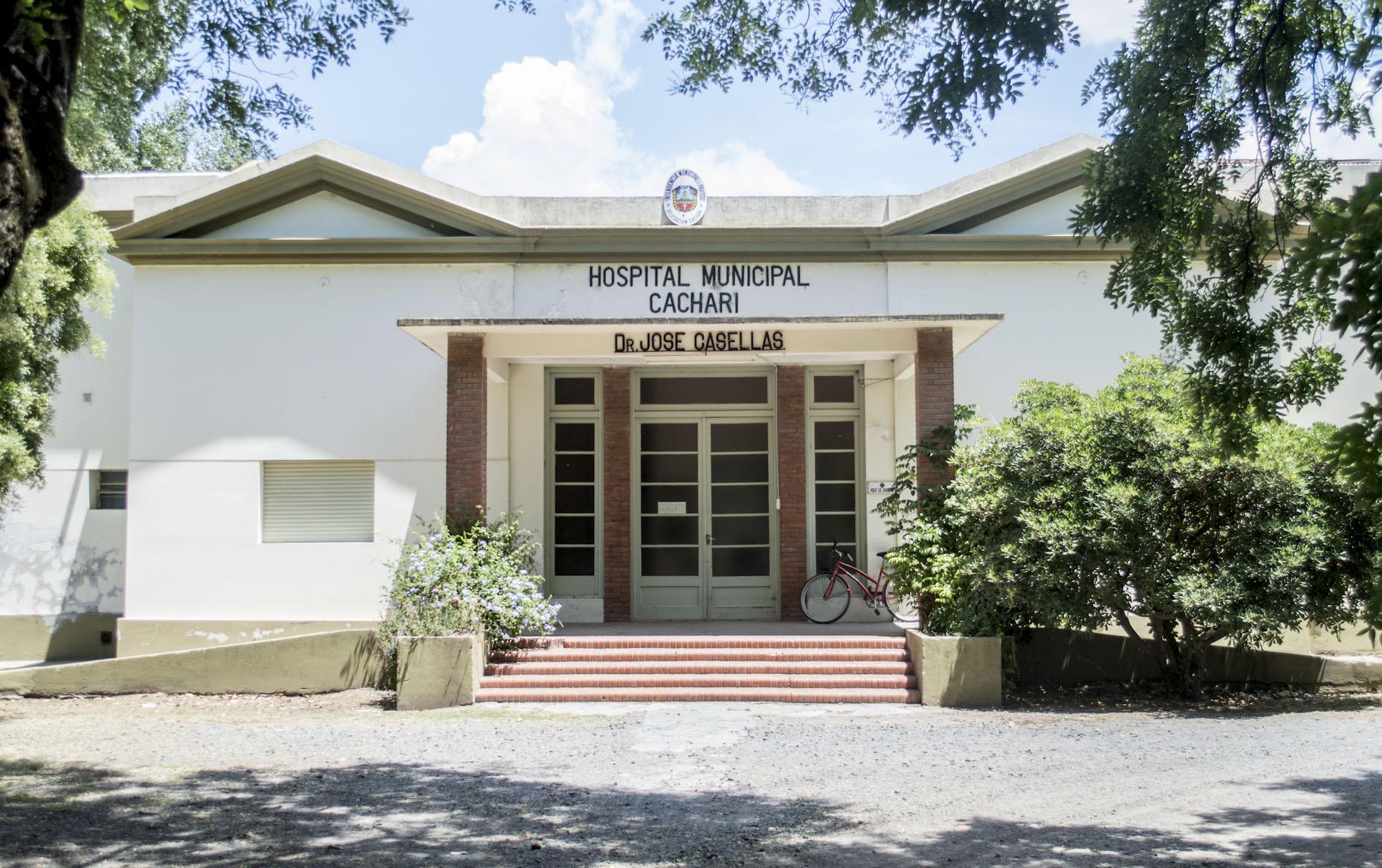Por un caso de COVID-19:Atención restringida en el Hospital de Cacharí
