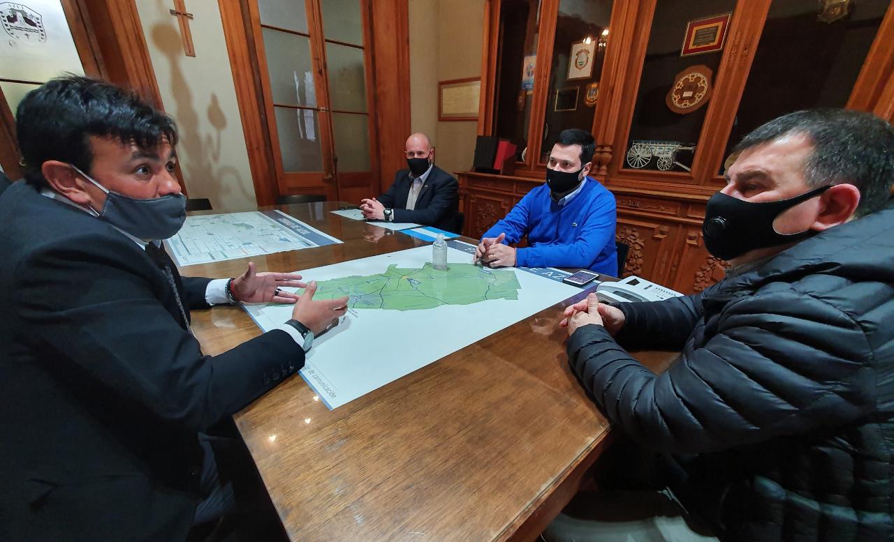 Reunión con autoridades de Seguridad de la Provincia