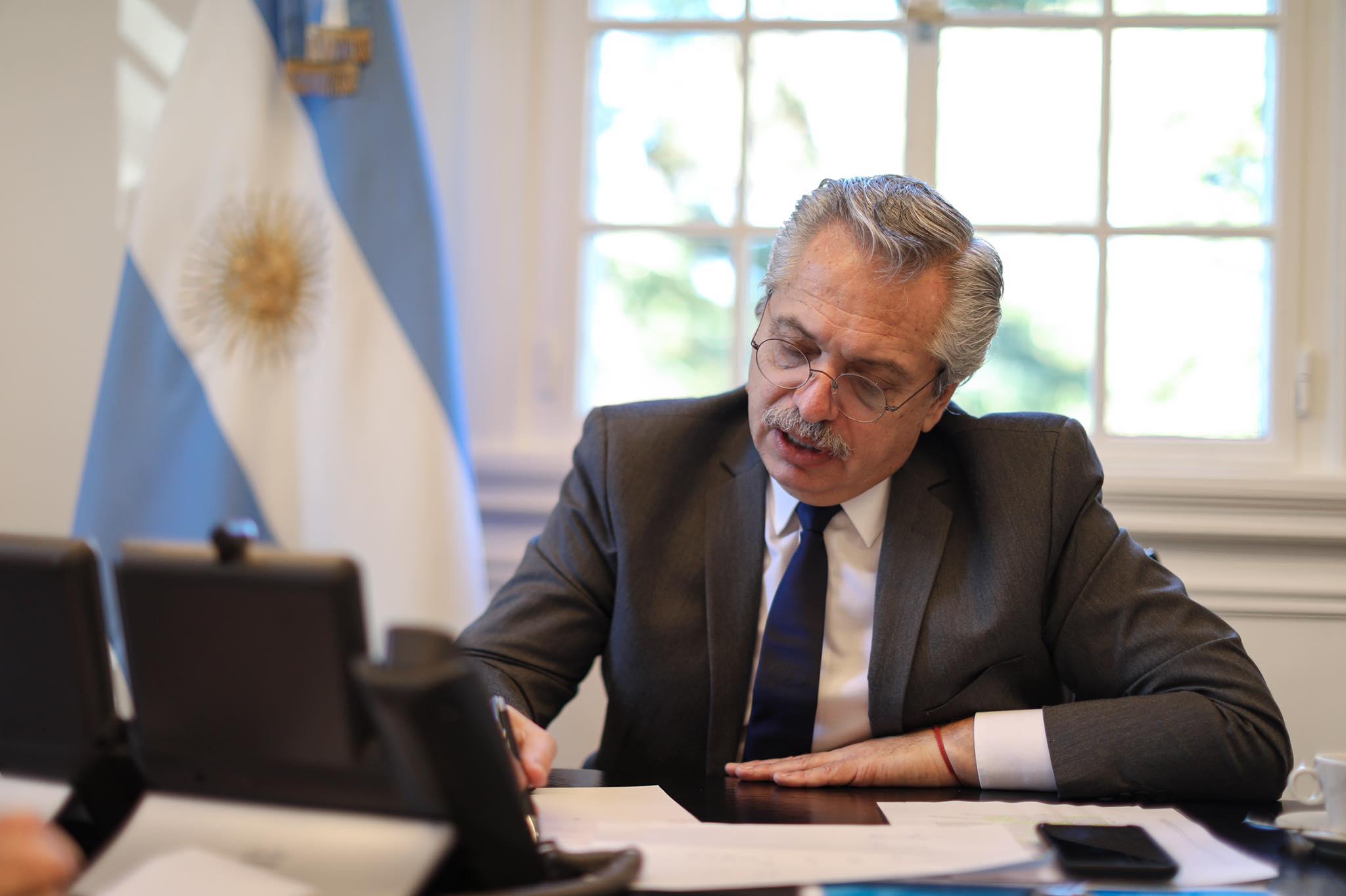"""Alberto Fernández: """"Ahora tenemos despejado el horizonte"""""""