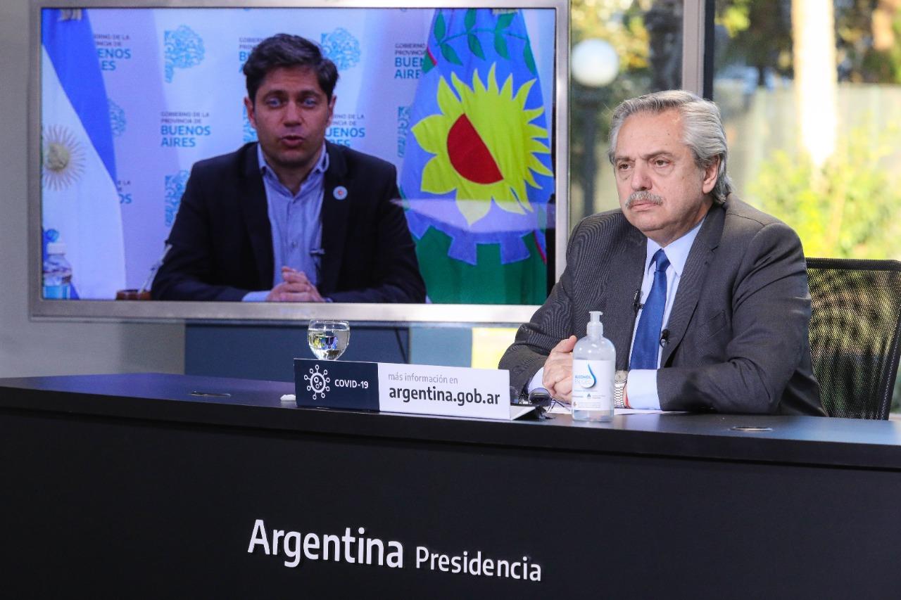 Kicillof acompañó a Alberto Fernández en el anuncio de obras de infraestructura ferroviaria