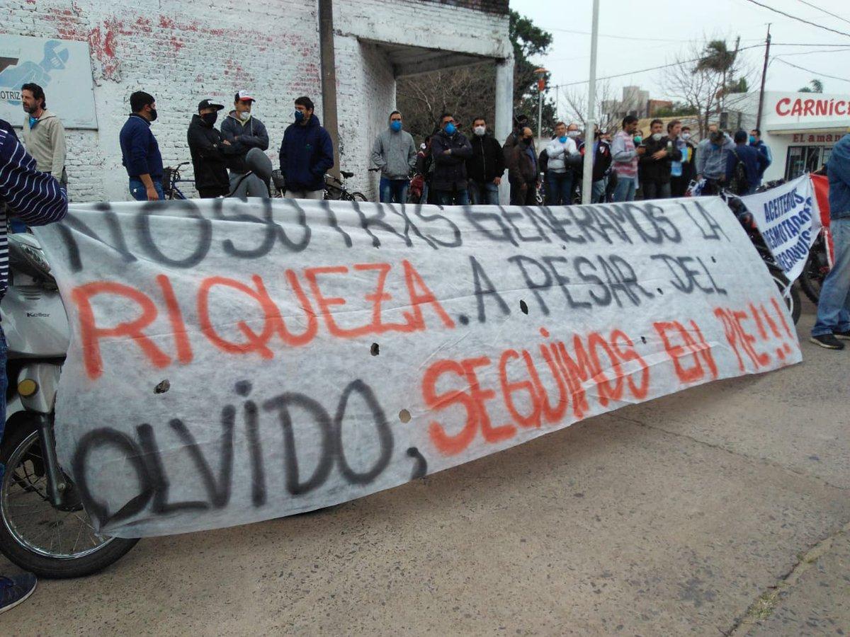 Trabajadores de la Algodonera Avellaneda y el efecto Vicentin