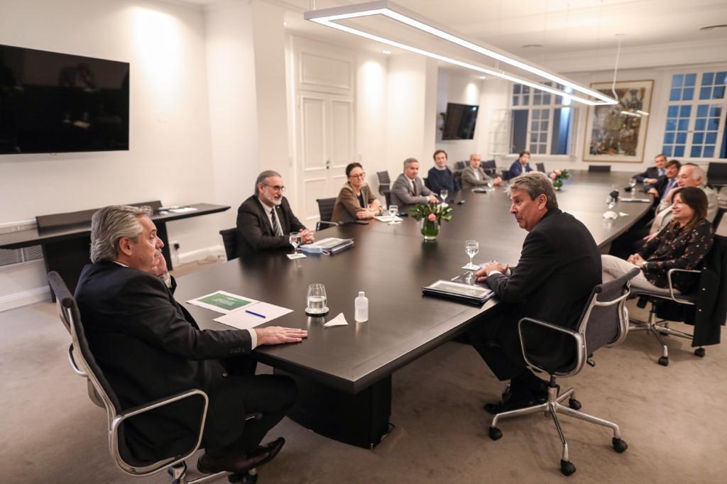 El Presidente recibió a representantes del Consejo Agroindustrial Argentino
