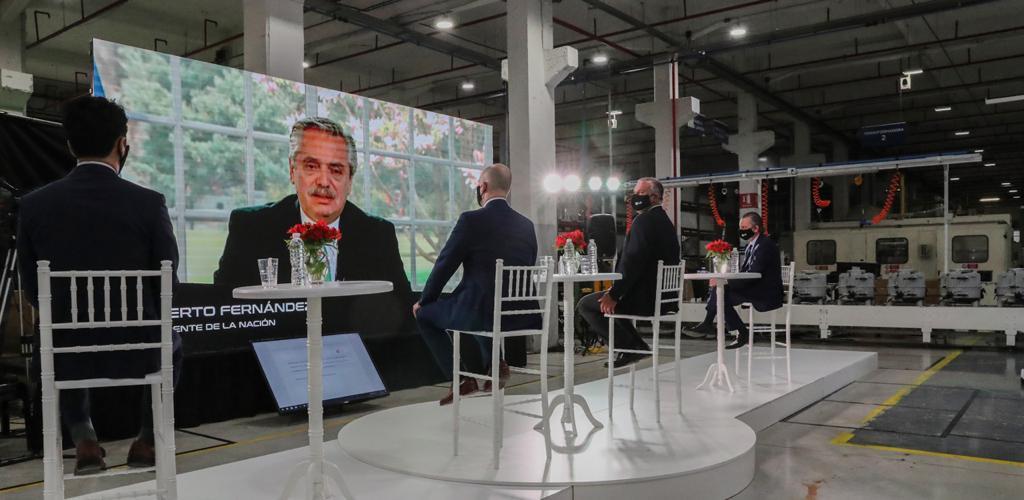 """Alberto Fernández: """"Necesitamos que los empresarios confíen en el país para darles las mejores condiciones para que inviertan"""""""