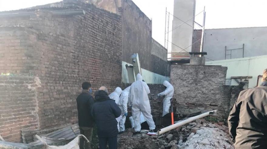Femicidio: encontraron el cuerpo de la joven de Junín en una obra en construcción
