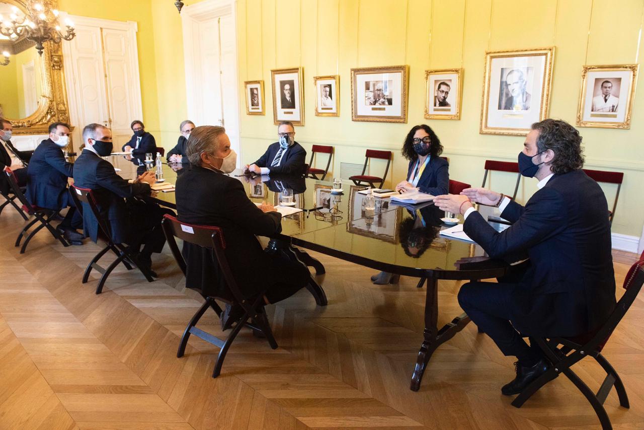 Se realizó la primera reunión del gabinete de comercio exterior