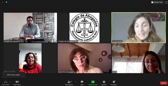 Institutos del C.A.A: espacios de debate e intercambio en pos de perfeccionar y dignificar la profesión.