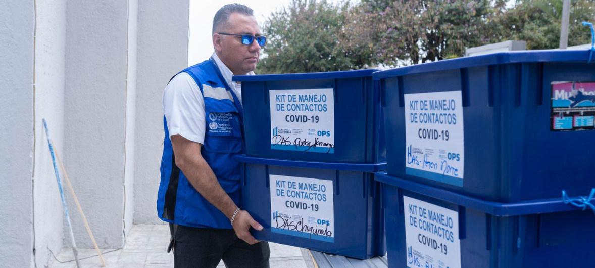 La OPS adquiere millones de pruebas de COVID-19 para América Latina
