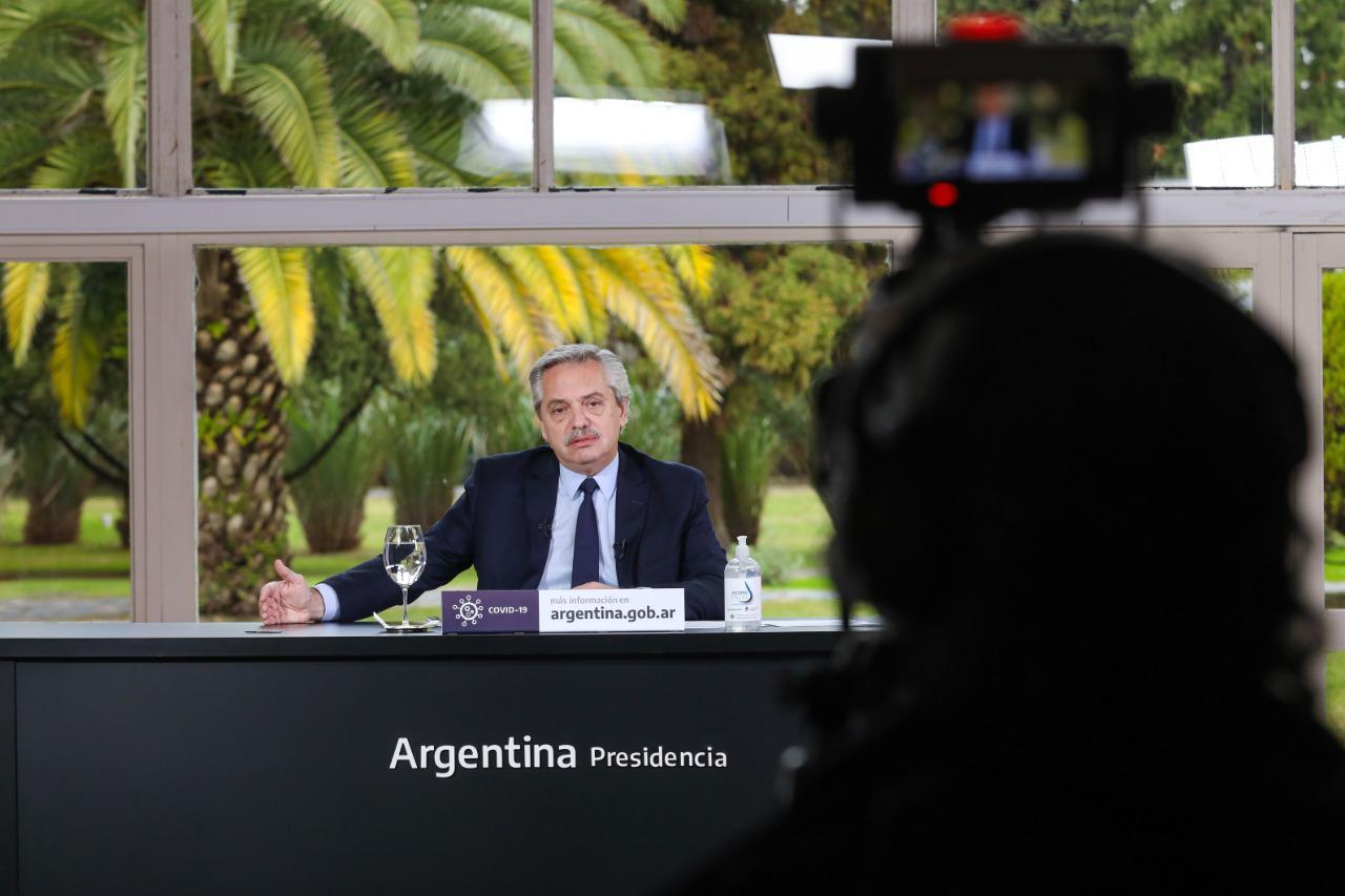 """Alberto Fernández: """"Queremos que el castigo tenga condiciones humanitarias"""""""