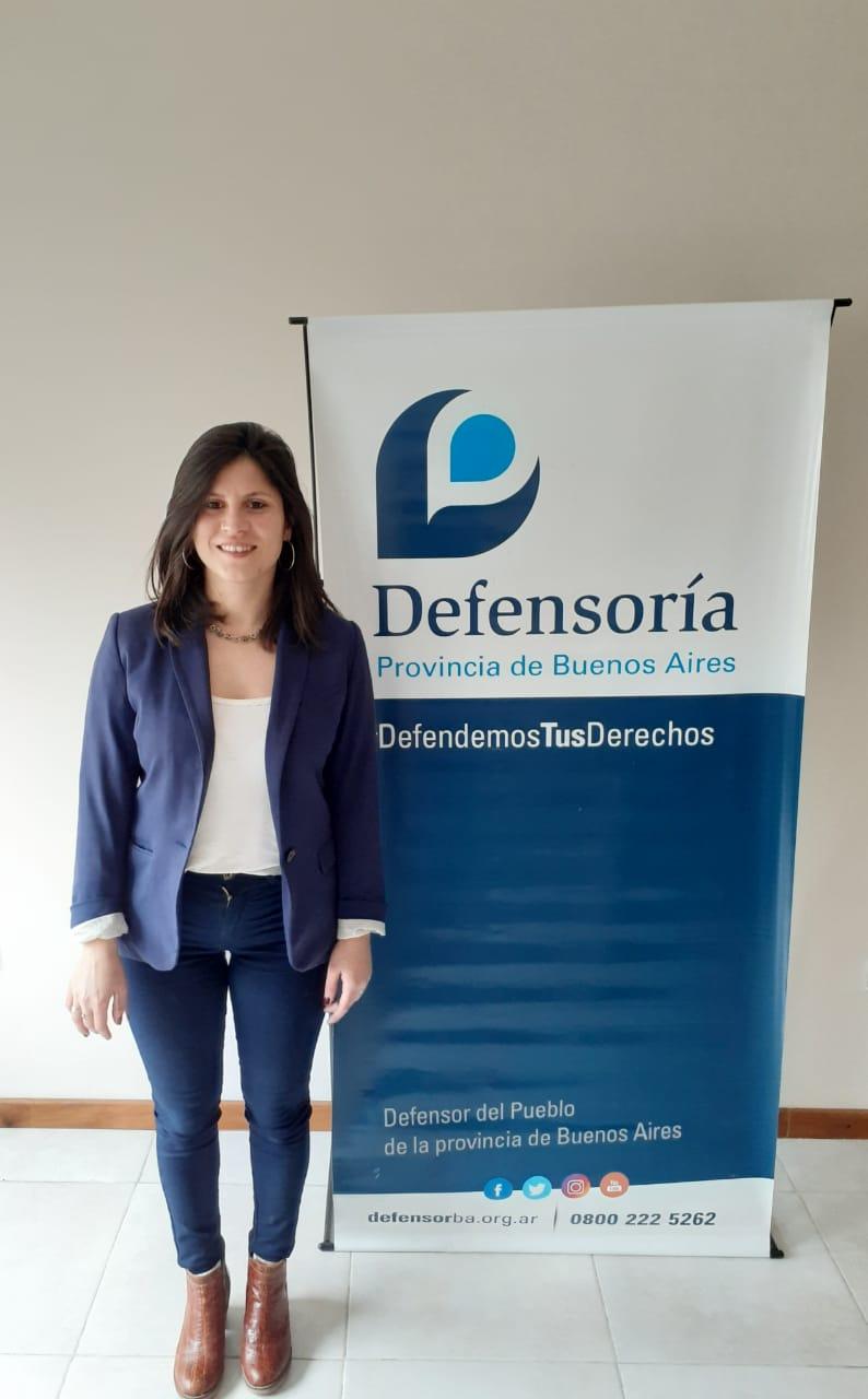 Nueva delegada a cargo de la Defensoría del Pueblo