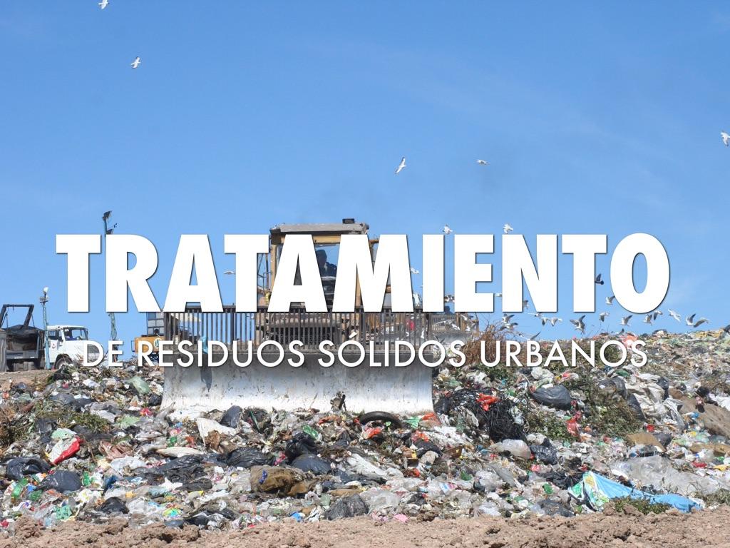 Los Residuos Sólidos Urbanos: regulación y experiencias locales
