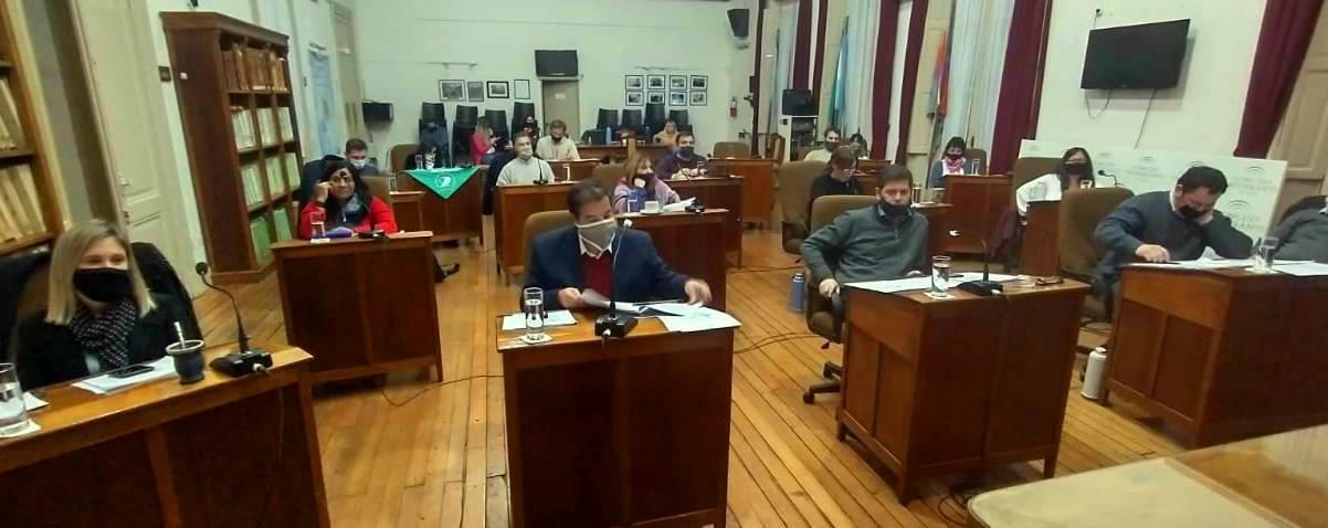 Concejo Deliberante: suspensión de Sesión Ordinaria y restricción al ingreso de público
