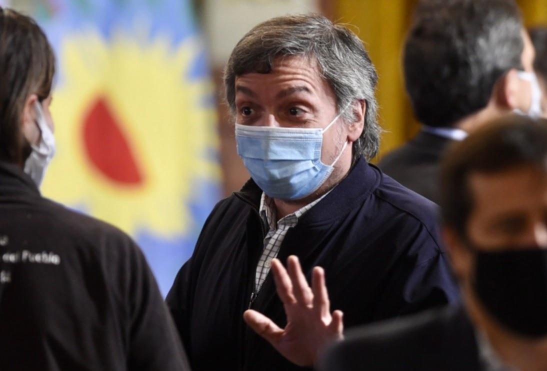 """Máximo Kirchner: """"La discusión hay que darla con los retrógrados"""""""