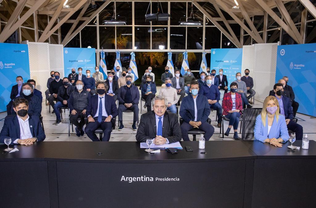 """Alberto Fernández: """"Vamos a darle una solución a la provincia de Buenos Aires, pero no vamos a aceptar este modo de protesta"""""""