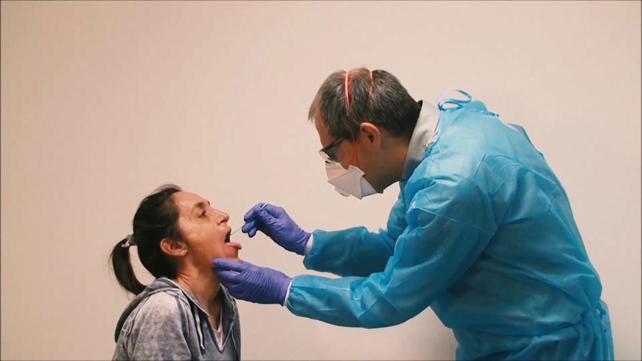 Las pruebas privadas por coronavirus deberán informarse al área de salud