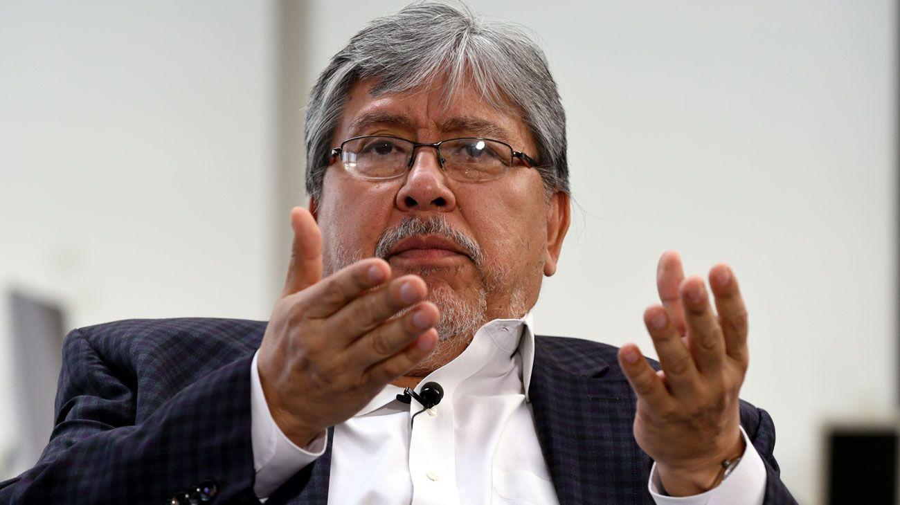 """Chino"" Navarro: ""La topadora no resuelve la toma de tierras"""