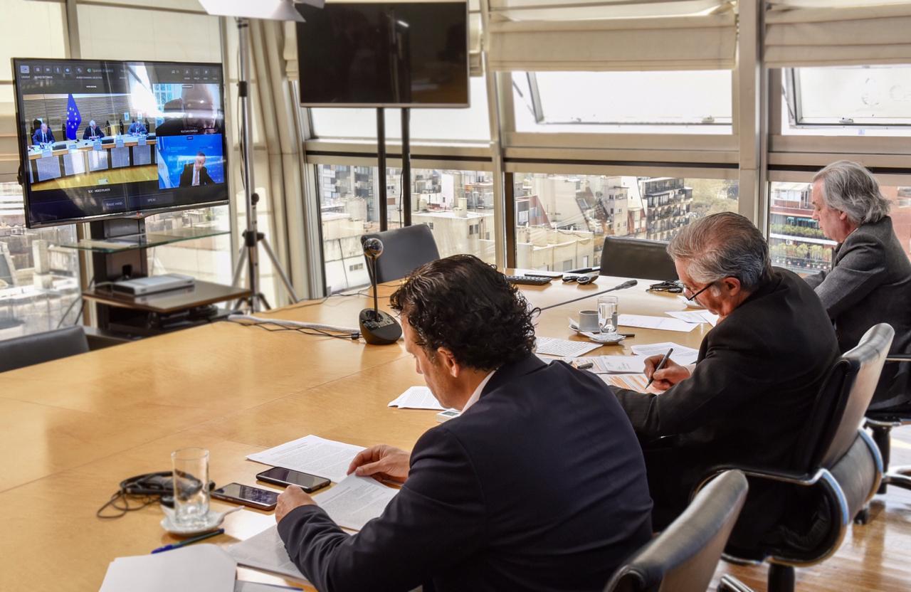 Argentina participó por primera vez en la reunión del Grupo Internacional de Contacto