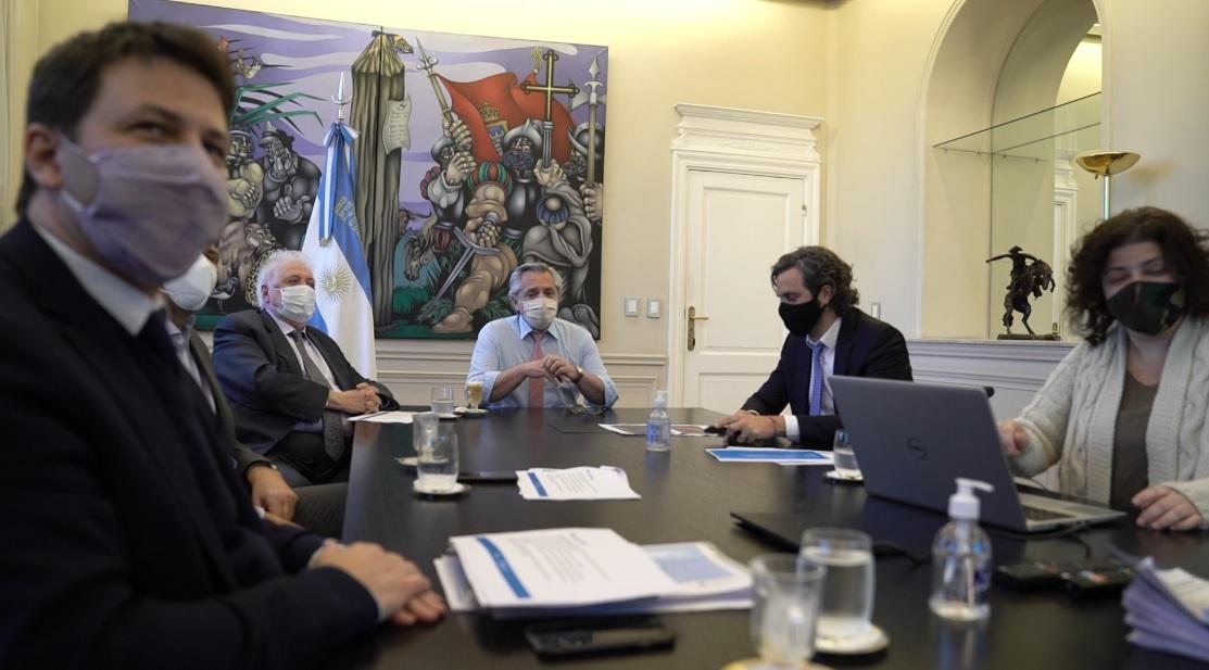 Coronavirus: El Presidente analizó el avance del Plan Federal de Respuesta Integrada contra el COVID-19