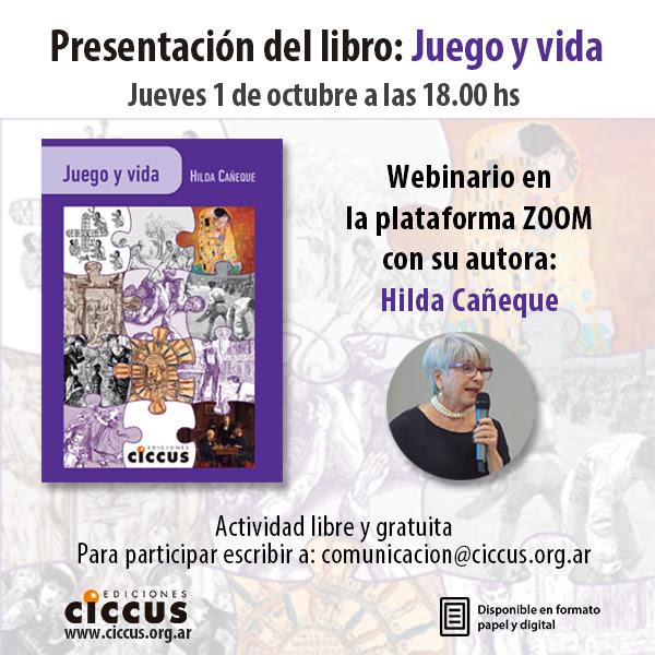 Hilda Cañeque, el juego y la vida
