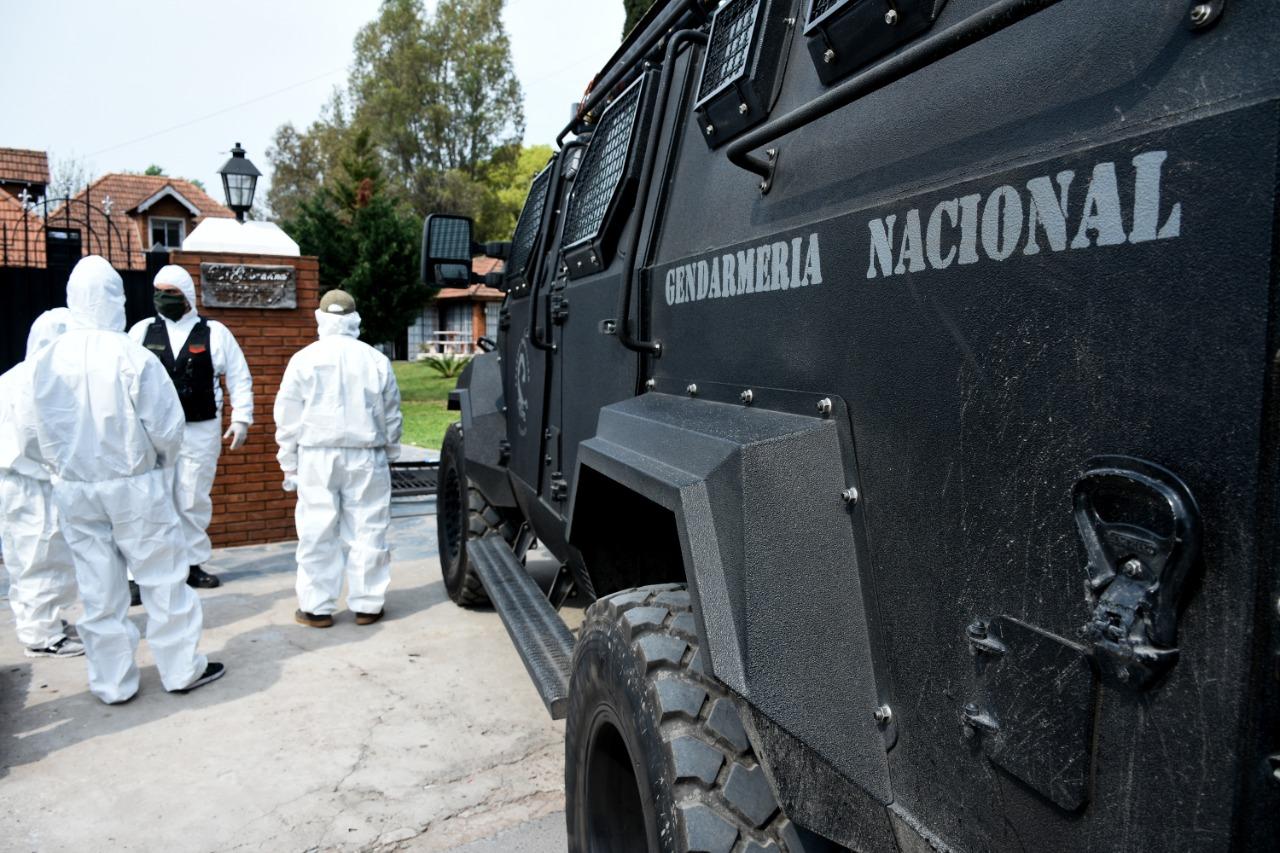 Golpe al narcotráfico en Rosario: incautan poderoso arsenal y drogas tras 15 allanamientos