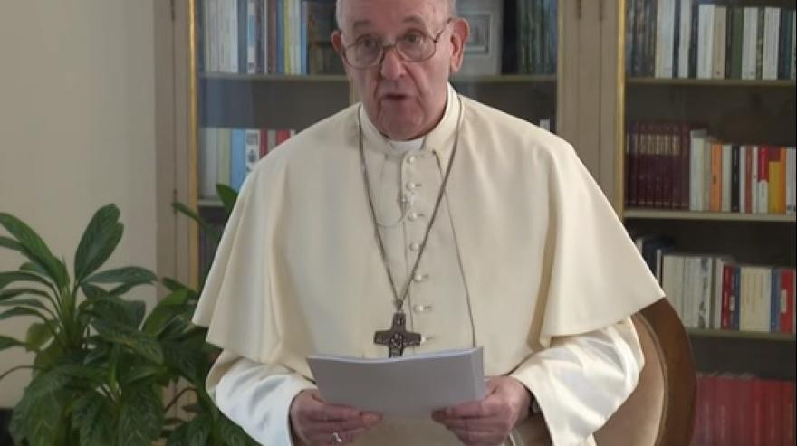 """El Papa Francisco a la ONU: """"la pandemia demostró que no podemos vivir uno contra el otro"""""""