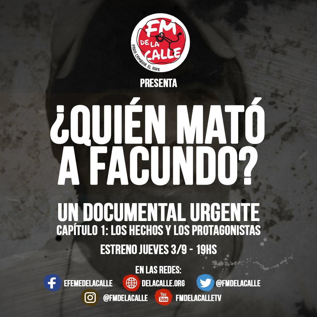 ¿Quién mató a Facundo?