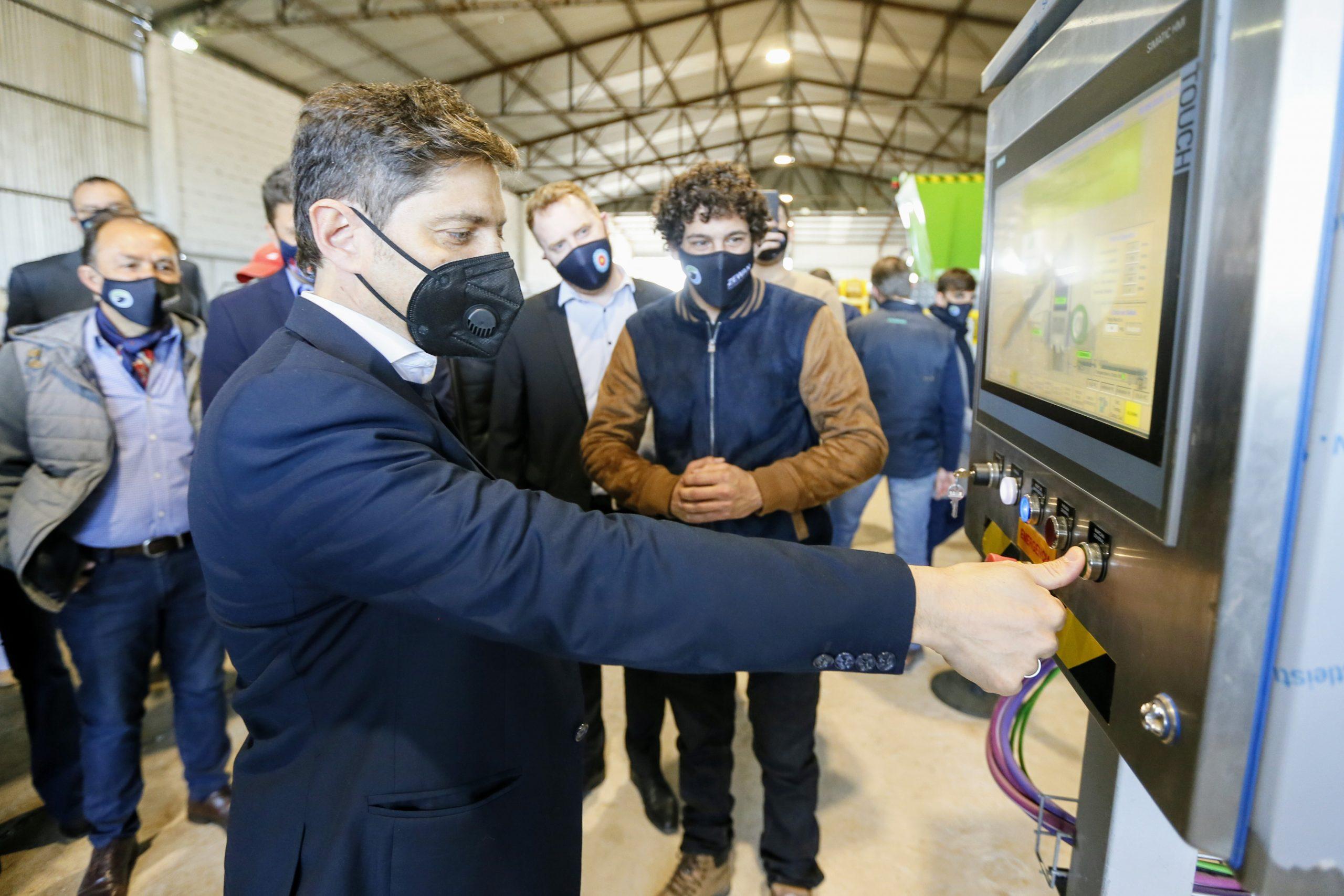 Kicillof presentó nueva tecnología nacional para la transformación de residuos urbanos