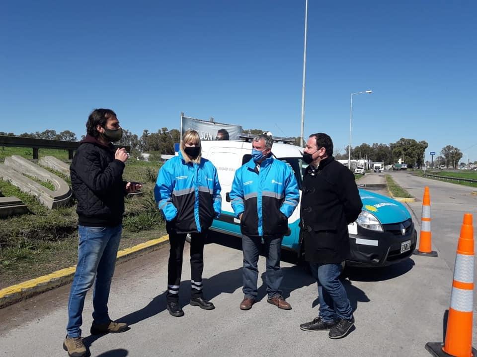 La provincia entregó un nuevo móvil de seguridad vial