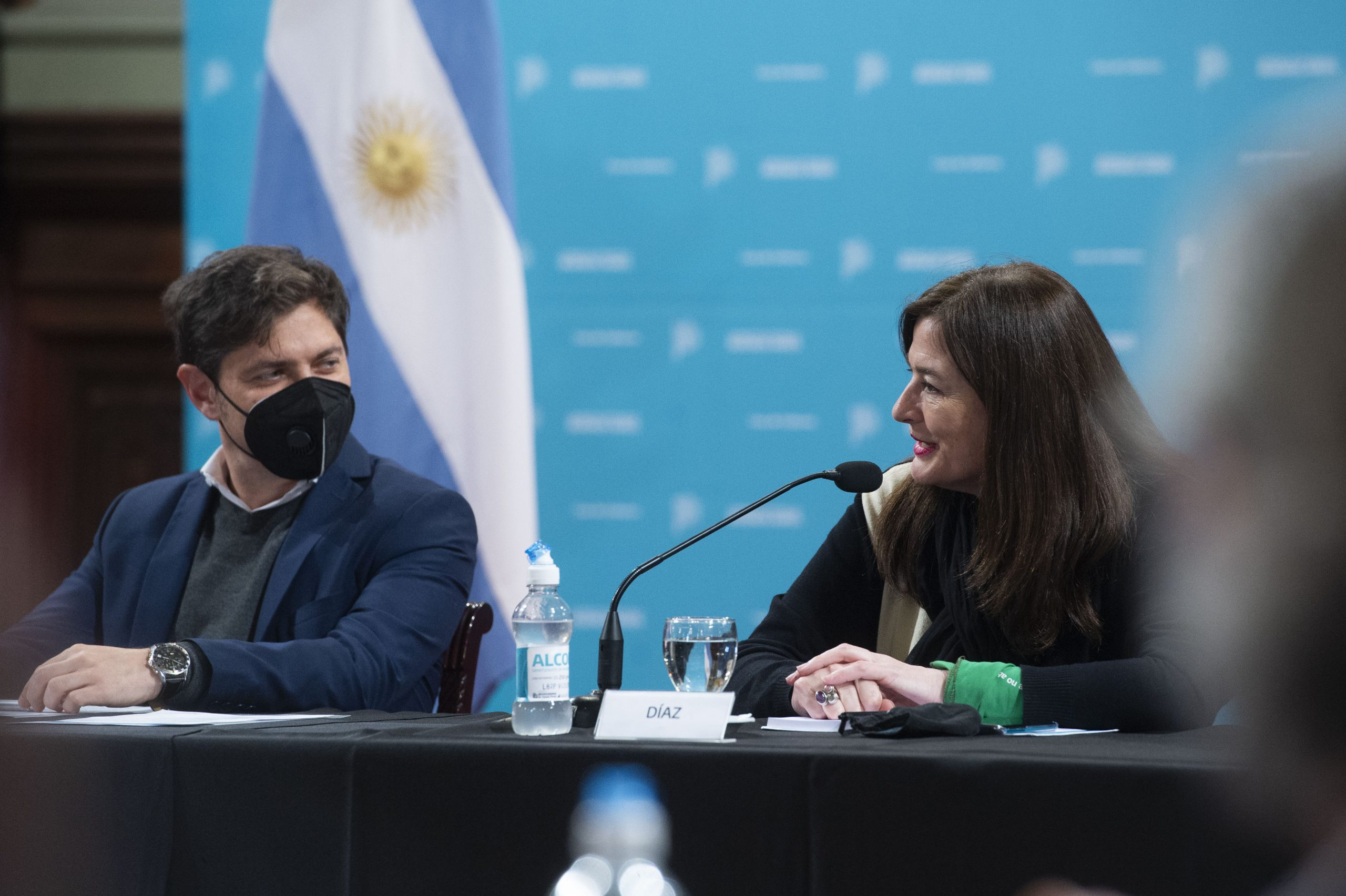 Kicillof y Díaz presentaron la Escuela Sindical de Género