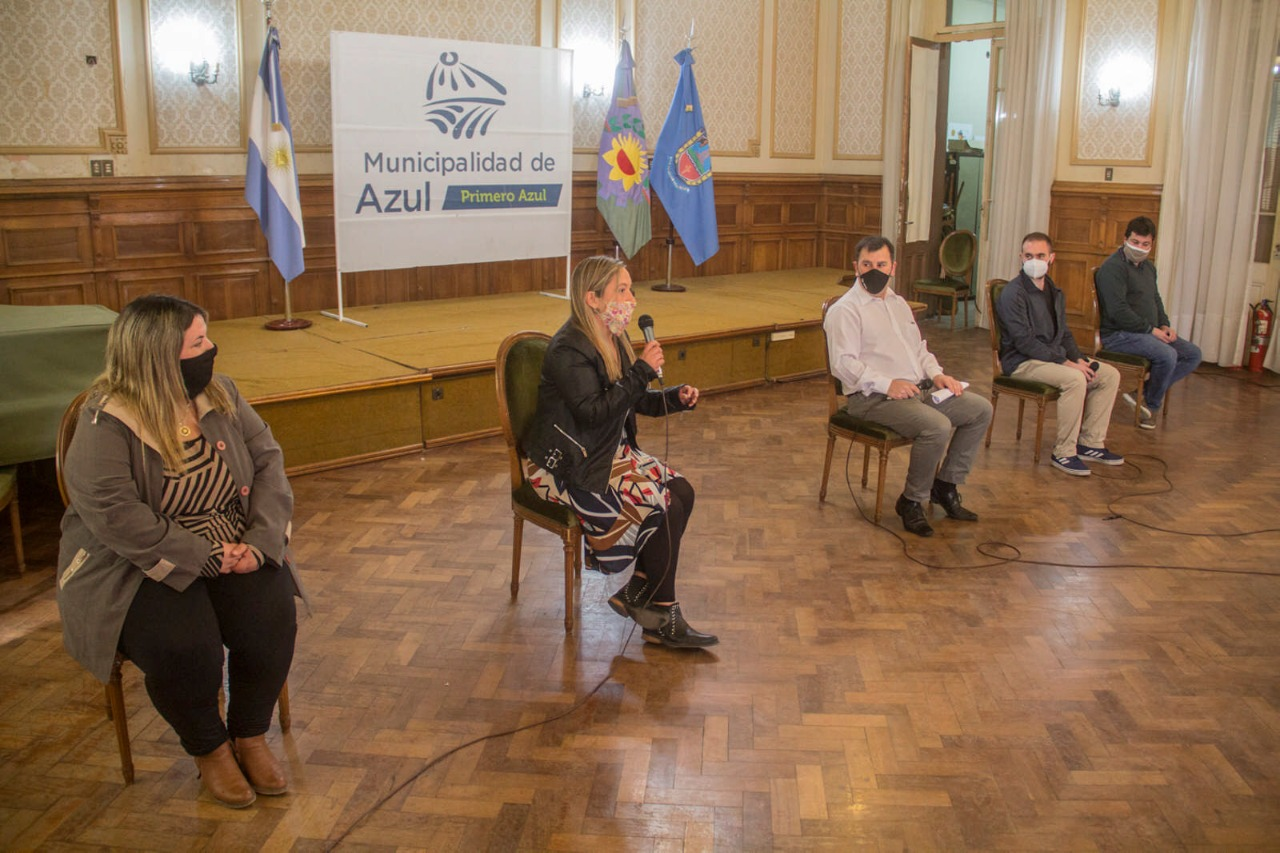 La Provincia envió a Azul un millón y medio de pesos para asistir al sector cultural y turístico