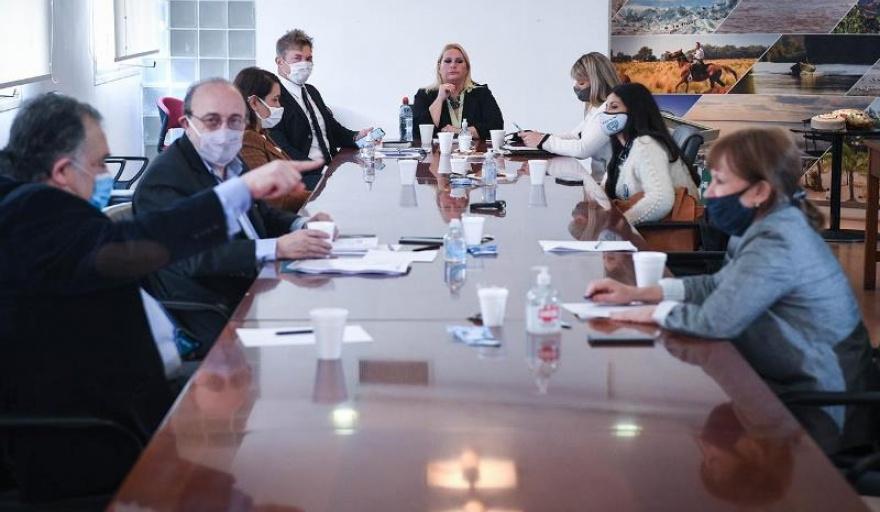 Familiares de las víctimas del ARA San Juan fueron recibidos por diputados nacionales